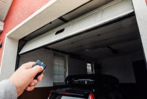 What is a garage door safety sensor