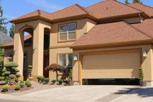 What should I look for when buying a garage door