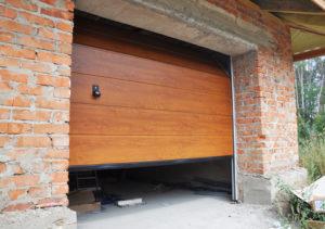 Can garage door panels be repaired